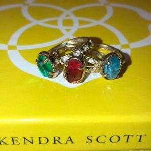 Kendra Scott Stackable Rings - Size 8